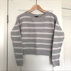 A&F 100% Cotton Striped Sweater
